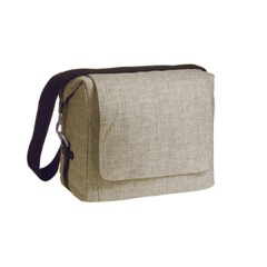 Bolso Green Label Small Messenger Choco de Lassig
