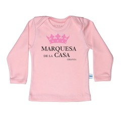 Camiseta Marquesa de la Casa Rosa de Papalote