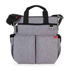 Bolso de Pañales Duo Signature Heather grey de Skiphop