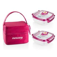 Bolsa Isotérmica Pack-2-go Hermifresh Pink de Miniland