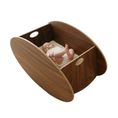 Minicuna So-Ro Walnut de Babyhome