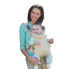 Mochila portabebés Classic Beige de Tomy The First Years