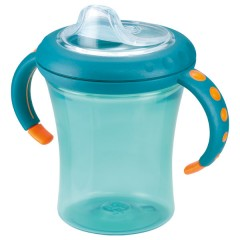 Taza Easy Learning 1 220 Ml Verde Turquesa de Nuk