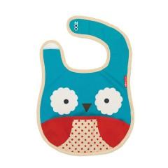 Babero Zoobib Owl de Skip Hop