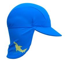 Gorra anti-UV Azul Tiburón de BabyBanz