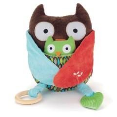 Peluche Treetop Friends Hug & Hide Owl de Skip Hop