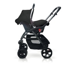 Match 2 silla de paseo Avant y grupo 0+ Baby Zero asphalt de Casualplay