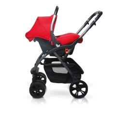 Match 2 silla de paseo Avant y grupo 0+ Baby Zero scarlet de Casualplay