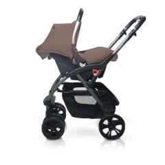 Match 2 silla de paseo Avant y grupo 0+ Baby Zero havana de Casualplay