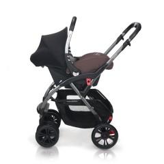 Match 2 silla de paseo Avant y grupo 0+ Baby Zero lavarrock de Casualplay