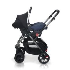 Match 2 silla de paseo Avant y grupo 0+ Baby Zero jeans de Casualplay