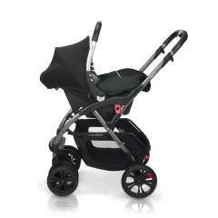 Match 2 silla de paseo Avant y grupo 0+ Baby Zero graphite de Casualplay