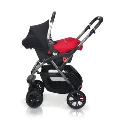 Match 2 silla de paseo Avant y grupo 0+ Baby Zero raspberry de Casualplay