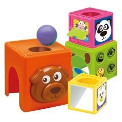 Conjunto Cubos Apilables con Bola de Bkids