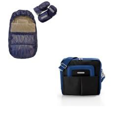 Saco polar y Manoplas Azul de Bebemon con Bolso Noname Dark Marine ¡de regalo!