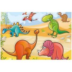 Puzle Marco Dinosaurios de Trefl