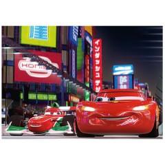 Puzle 3D 72 piezas Disney Cars McQueen y Francesco de Trefl