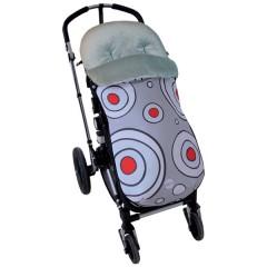Saco Entretiempo Estampado Spot de Peke Baby