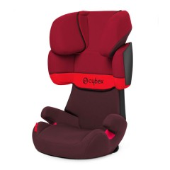 Silla de Auto Grupo 2,3 Solution X Rumba Red de Cybex