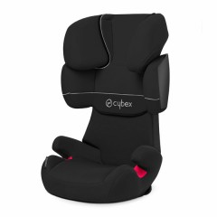 Silla de Auto Grupo 2,3 Solution X Pure Black de Cybex