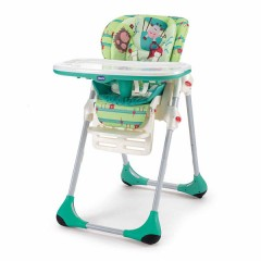 Trona Polly 2 en 1 greenland de Chicco