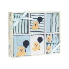 Set de Regalo 6 Piezas Azul de Playshoes