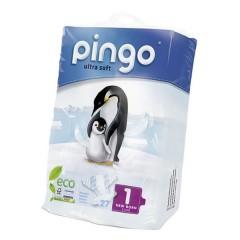 Pañales Ecológicos Pingo Talla 1 Recién Nacido 27 Uds.