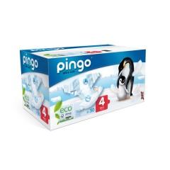 Pañales Ecológicos Pingo Talla 4 (7-18 Kilos) 80 Uds.