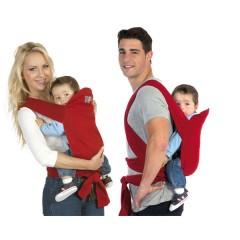 Portabebés de Algodón Rojo de Kiokids