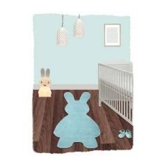 Alfombra Bunny Bleu de Nattiot