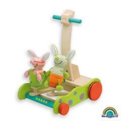 Andador conejo saltador de Wonderworld