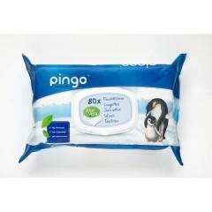 caja de 12 bolsas de Toallitas húmedas ecológicas Pingo (960 uds)