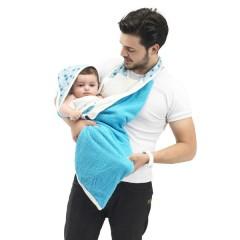 Capa de Baño White & Blue de Baby To Love