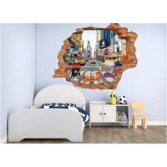 Vinilo Decorativo Amazing 3d Paso de Cebra de Decora Tu Pared