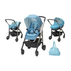 Trío Loola Excel Pack Mosaic Blue de Bébé Confort