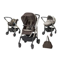 Trío Loola Excel Pack Earth Brown de Bébé Confort
