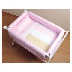 Pack Minicuna Tijera Basic Multicolor rosa de Sal de Coco