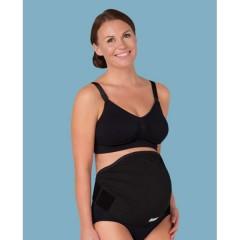 Cinturón Regulable Sujeción Embarazo Overbelly Negro de Carriwell