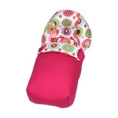 Saco silla de paseo de tela Pinkie de Sal de Coco