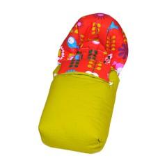 Saco silla de paseo de tela Sushi Loto de Sal de Coco