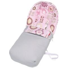 Saco silla de paseo de tela Sushi Loto Rosa Vintage de Sal de Coco