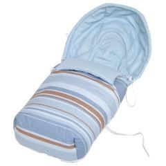 Saco silla de paseo polar Pinkie Cannes Azul de Sal de Coco