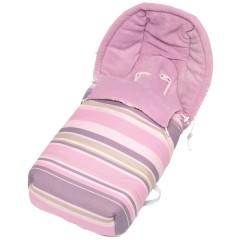 Saco silla de paseo polar Pinkie Cannes Rosa de Sal de Coco
