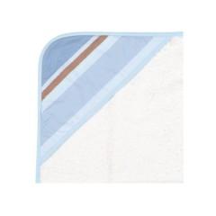 Capa de Baño Pinkie Cannes Azul de Sal de Coco