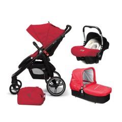 Match 3 Loop + Capazo Cot + Grupo Baby0 Raspberry Red de Casualplay