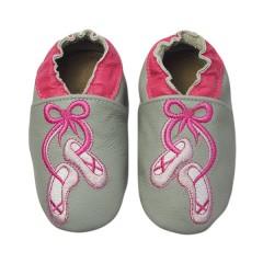 Zapato para niña ClassicZ Ballet Slippers Grey de Rose Et Chocolat