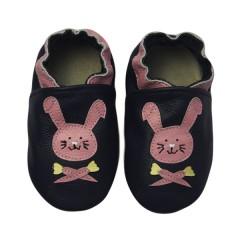 Zapato para bebé ClassicZ Happy Rabbit Navy de Rose Et Chocolat