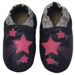 Zapato para bebé ClassicZ Shooting Stars Navy de Rose Et Chocolat
