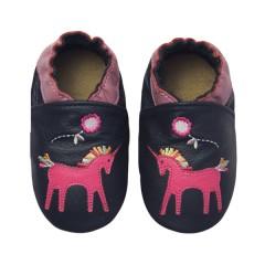 Zapato para bebé ClassicZ Magic Unicorn Grey de Rose Et Chocolat