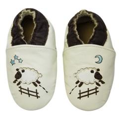 Zapato para bebé ClassicZ Goodnight Sheep Creme de Rose Et Chocolat